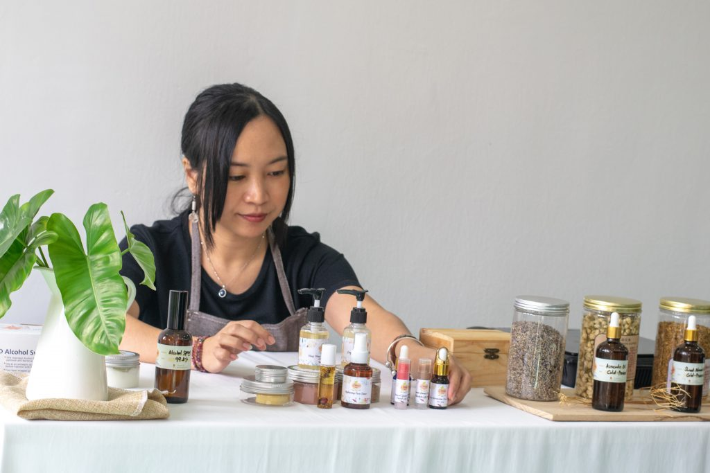 how to make your own skin care organic products?