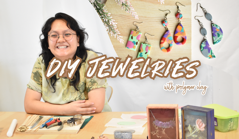 DIY Jewelries with Polymer Clay