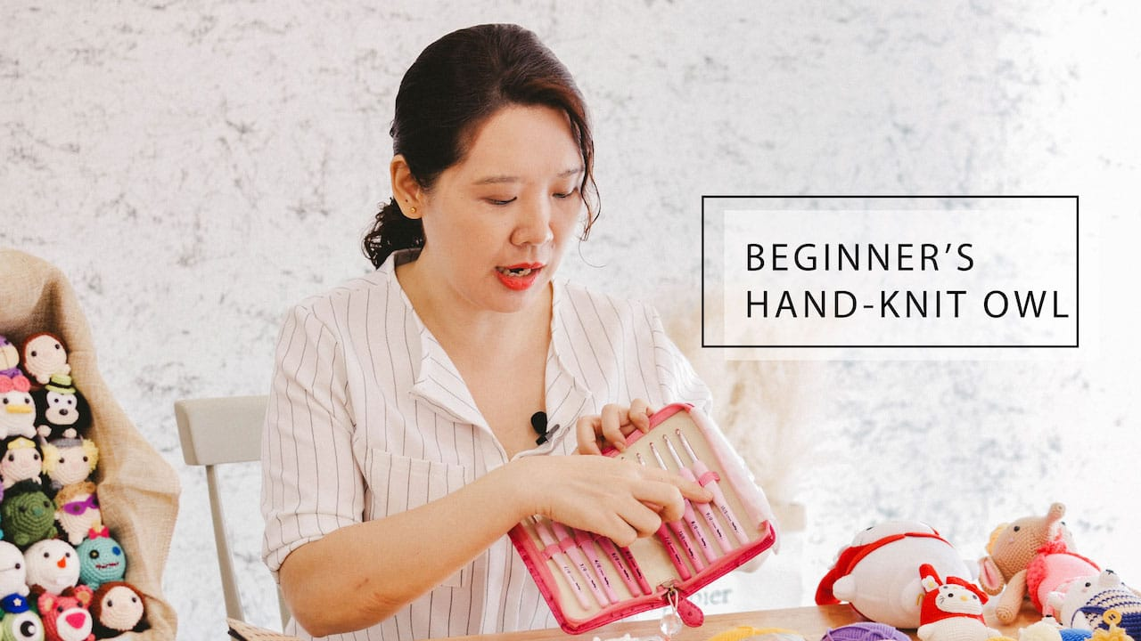 Hand knit Class for Beginner