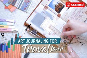 Art Journaling for Travel Lover