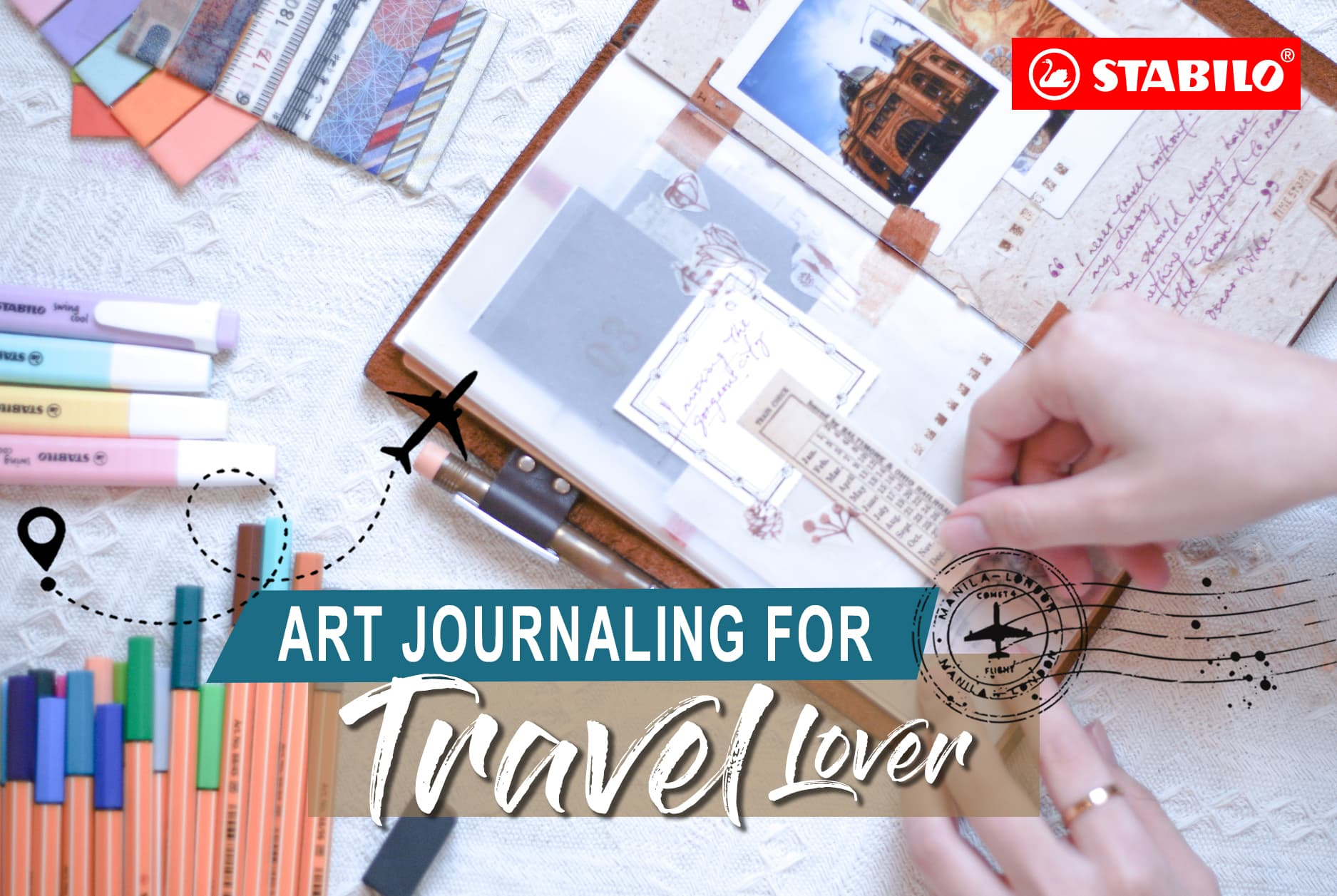 Art Journaling for Travel Lover