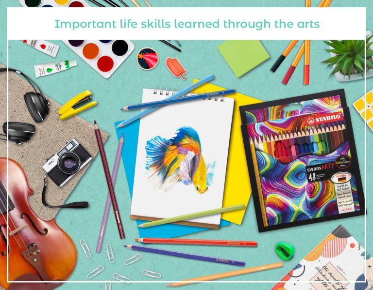 Important life skills learned through the arts