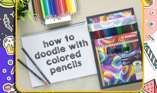 How to Doodle with Colored Pencils