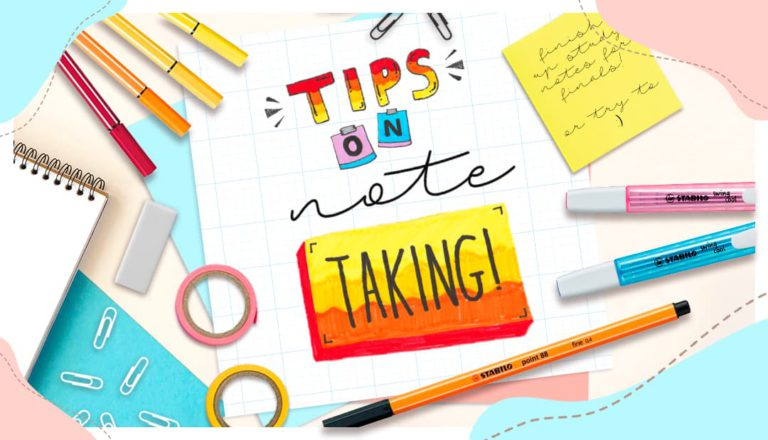 Tips on Note-Taking