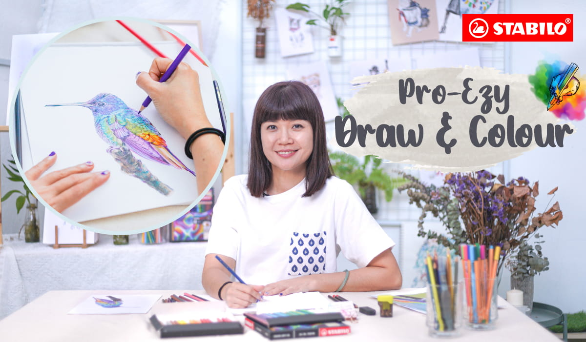 Pro-Ezy Draw & Colour Workshop (STABILO)