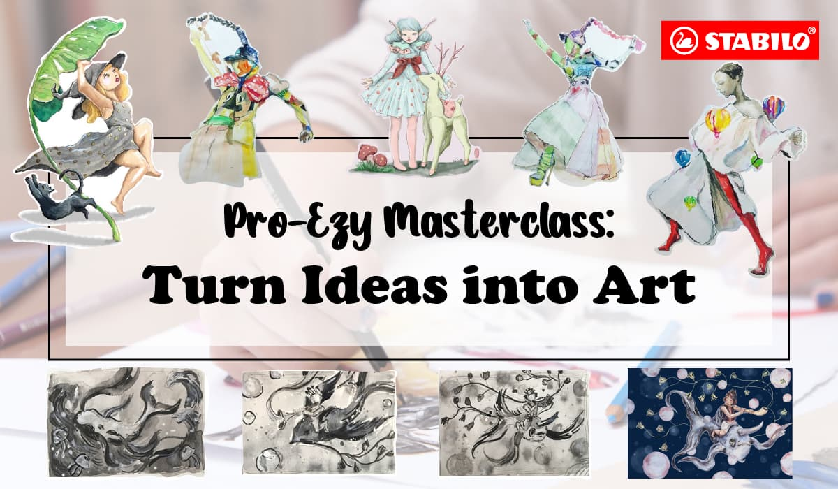 Pro-Ezy Masterclass - Turn Ideas into Art (STABILO)