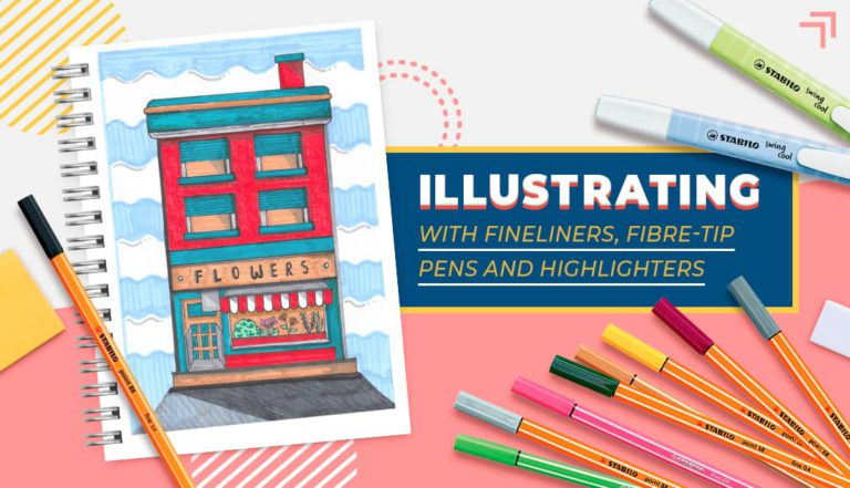 Illustrating with Fineliners, Fibre-tip Pens and Highlighters