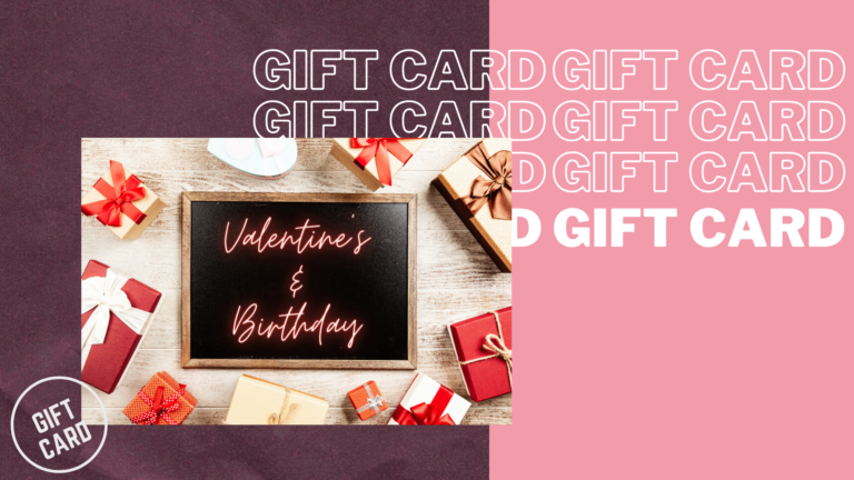 Valentine's Day is just around the corner! Get your partner a gift now 🎁❤️
