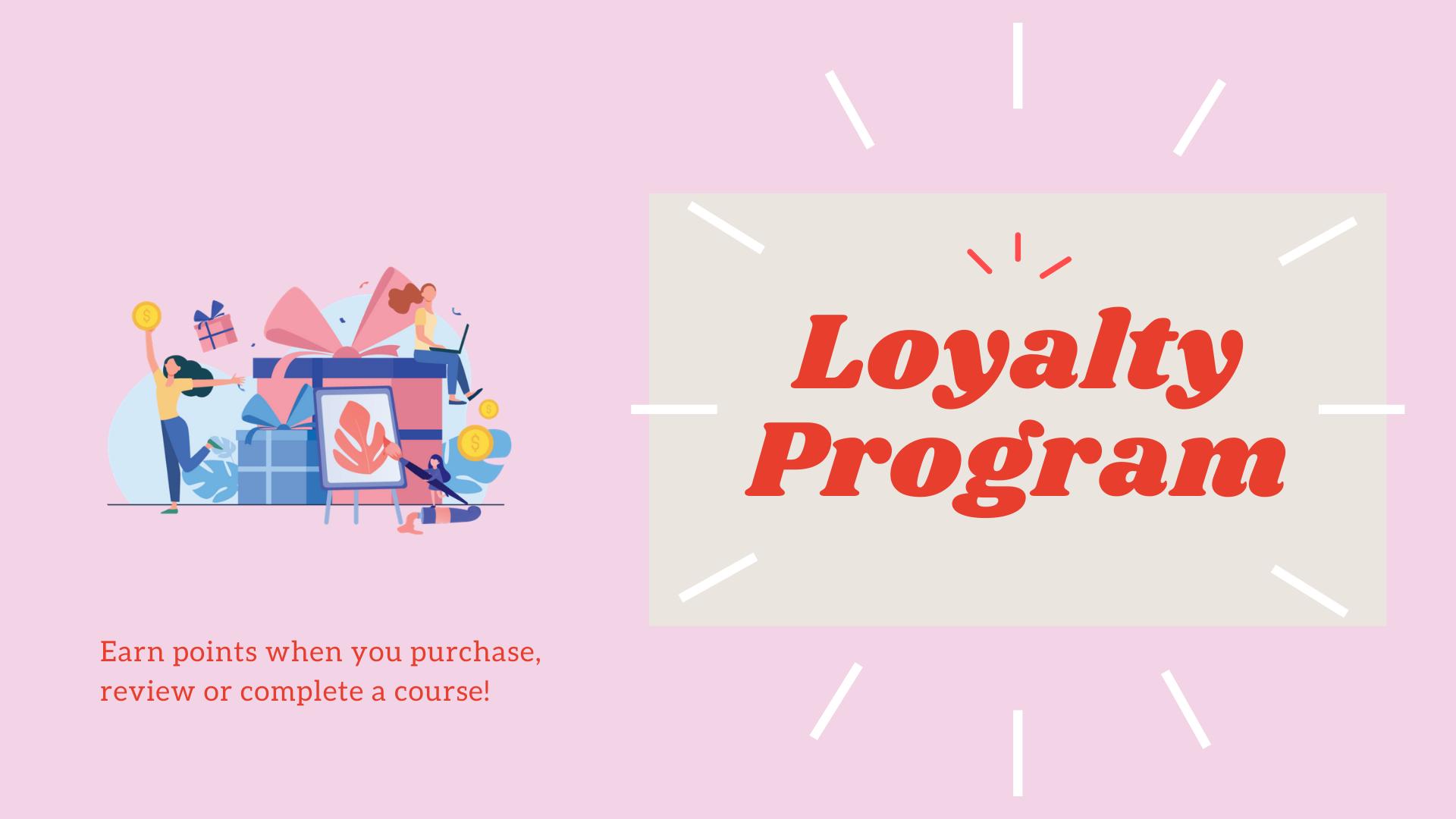 Loyalty, Craft La, Points, Crafts