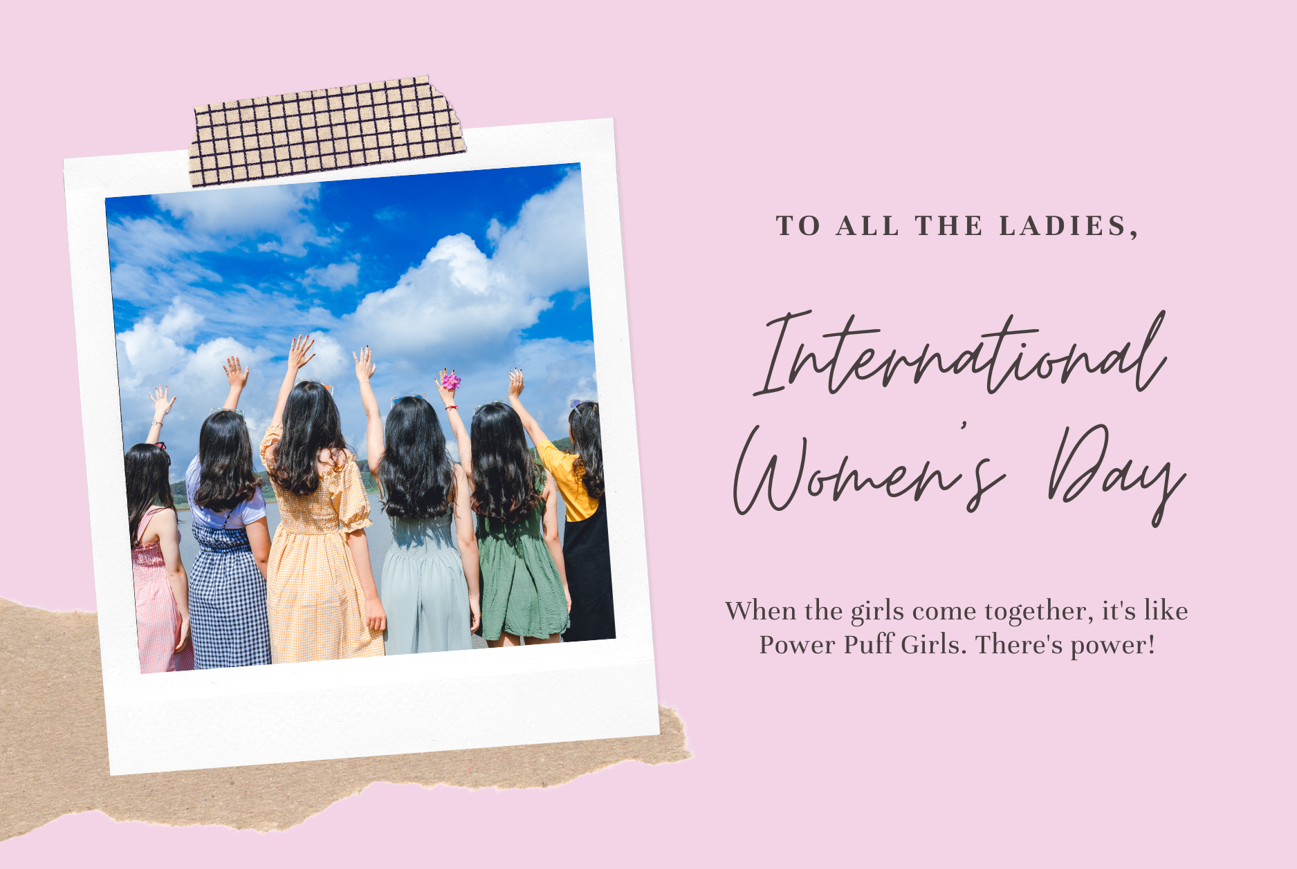 International Women's Day, Ladies, Girls
