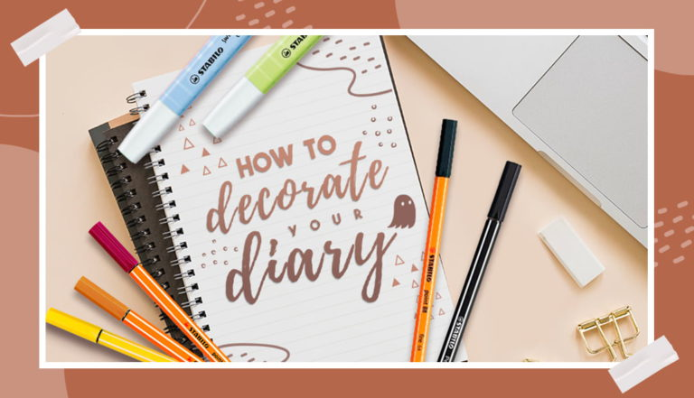 How to decorate your diary