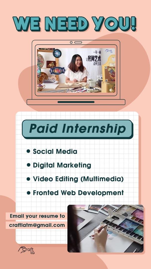 social media, digital marketing, video editing (multimedia), software developer / frontend web development